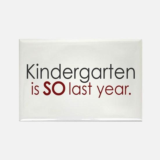 Funny Kindergarten Grad Rectangle Magnet