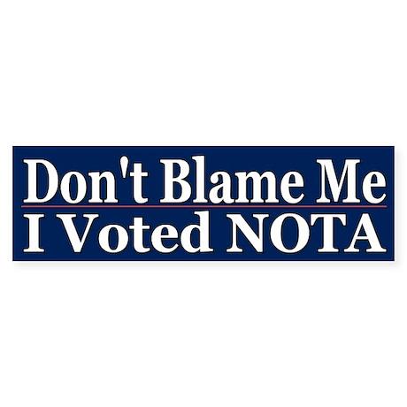 Cool Political NOTA