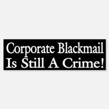 Corporate Bailout Blackmail