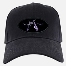 Jazz Saxophone Purple Baseball Hat