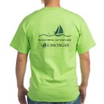 SailMichigan Green T-Shirt