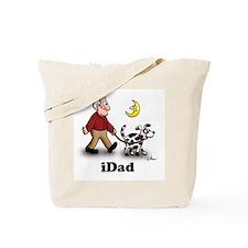 dog walker iDad Tote Bag
