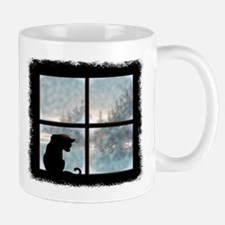 Cat in Window Mug