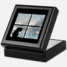 Cat in Window Keepsake Box