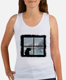 Cat in Window Women's Tank Top
