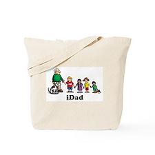 gramp's kids iDad Tote Bag