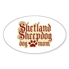 Shetland Sheepdog Mom Decal