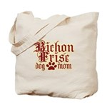 Bichon Frise Mom Tote Bag
