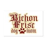 Bichon Frise Mom Mini Poster Print