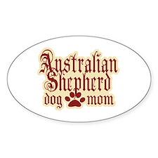 Australian Shepherd Mom Decal