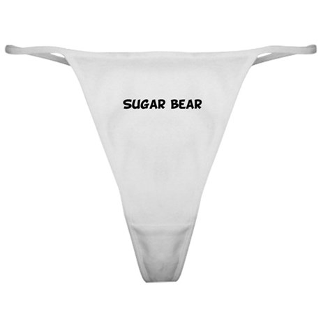 Sugar bear Classic Thong