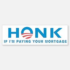 HONK... Anti Obama Bumper Bumper Bumper Sticker