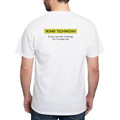 Bomb Technician White T-Shirt
