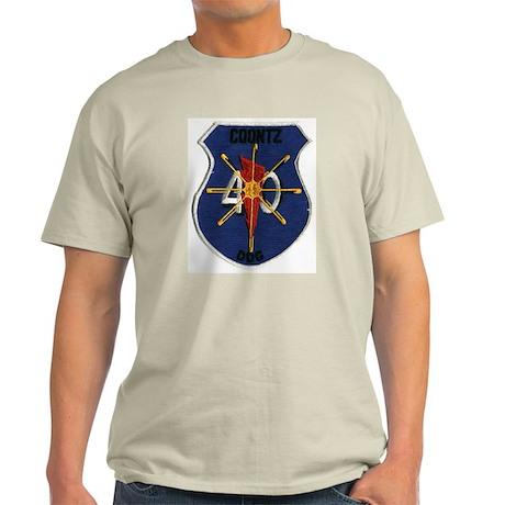 USS Coontz DDG-40 Ash Grey T-Shirt