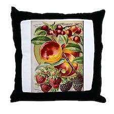 4 Farliest Fruits Throw Pillow