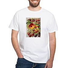 4 Farliest Fruits White T-Shirt