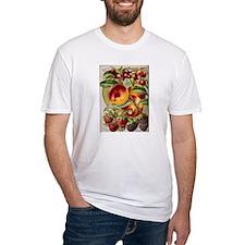 4 Farliest Fruits Fitted T-Shirt