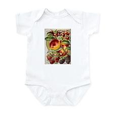 4 Farliest Fruits Infant Bodysuit