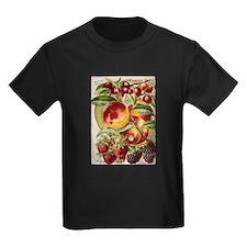 4 Farliest Fruits Kids Dark T-Shirt