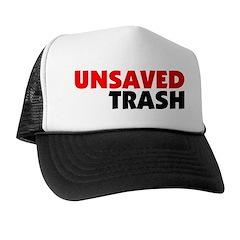 Unsaved Trash Trucker Hat