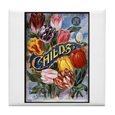 John Lewis Childs - 1897 Tile Coaster