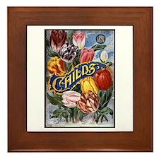 John Lewis Childs - 1897 Framed Tile