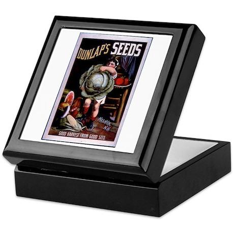 Dunlap's Seeds Keepsake Box