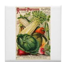 Richard Frotscher Seed Co. Tile Coaster