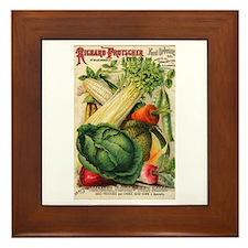 Richard Frotscher Seed Co. Framed Tile