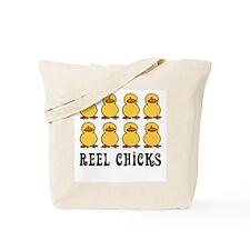 Reel Chicks Tote Bag