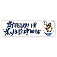 Barony of Lyondemere Bumper Bumper Sticker