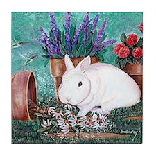 Twinkie Bunny Tile Coaster