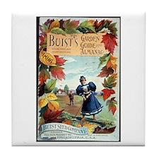 Buist's Garden Guide Tile Coaster
