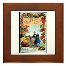 Buist's Garden Guide Framed Tile