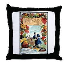 Buist's Garden Guide Throw Pillow