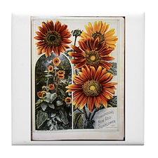 Henderson's Sunflower Tile Coaster