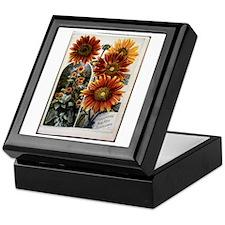 Henderson's Sunflower Keepsake Box