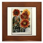 Henderson's Sunflower Framed Tile