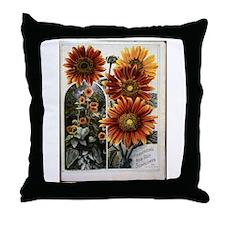 Henderson's Sunflower Throw Pillow