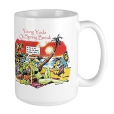 Yoda On Spring Break Mug