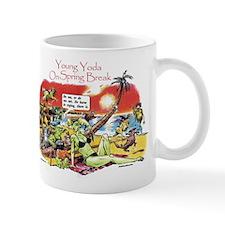 Yoda On Spring Break Small Mug