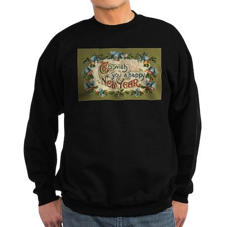 Vintage New Year's Eve Sweatshirt (dark)