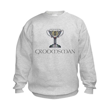 Celtic Groomsman Kids Sweatshirt
