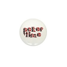 Poker Time Mini Button (10 pack)