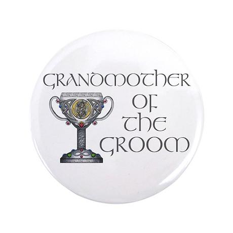 "Celtic Grandmother Groom 3.5"" Button"