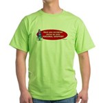 Have You Accepted Jesus as Yo Green T-Shirt