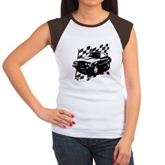 Mustang 1983 - 1984 Women's Cap Sleeve T-Shirt