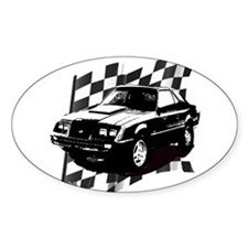 Mustang 1983 - 1984 Oval Decal