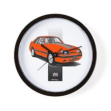 Mustang 1985 - 1986 Wall Clock