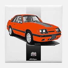 Mustang 1985 - 1986 Tile Coaster